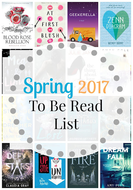 Spring 2017 To Be Read List