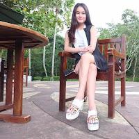 foto paling cantik Dinda Hauw