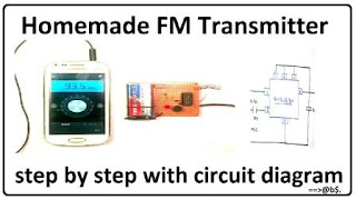 homemade fm transmitter without coil