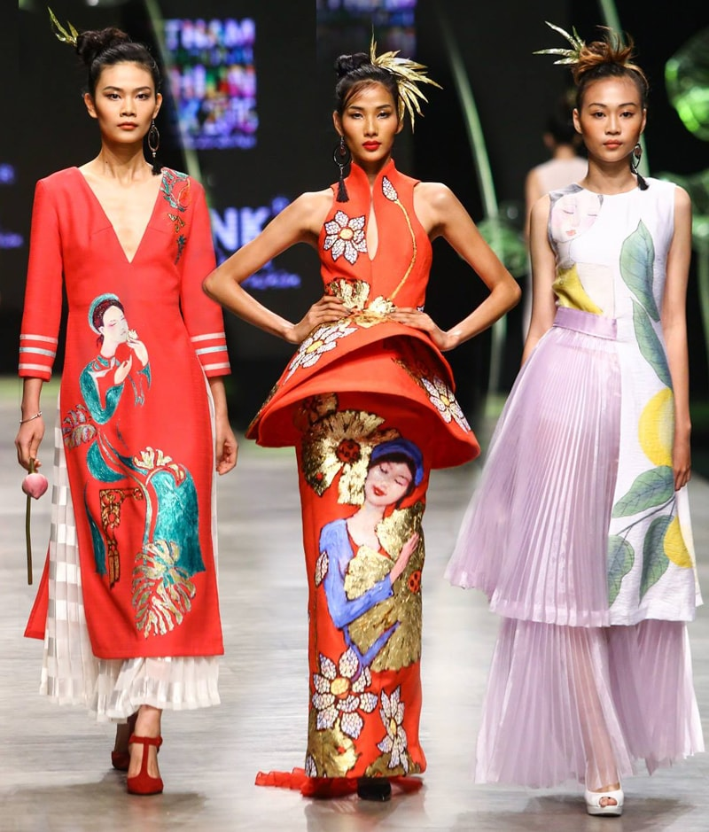 Vietnam International Fashion Week 2016- Day 3- Tiny Ink by Hoang Quyen