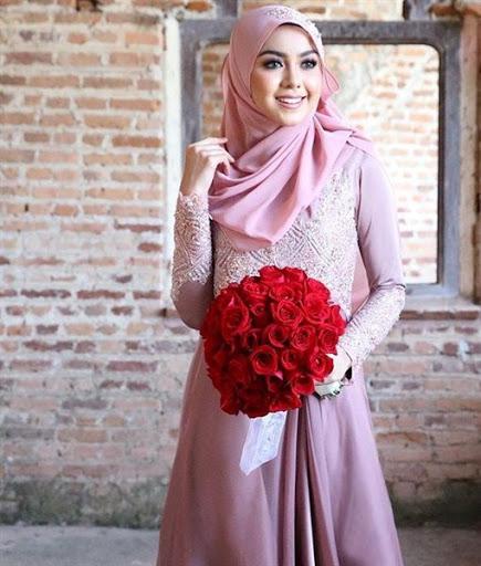 model hijab simple kebaya terbaru 2017/2018
