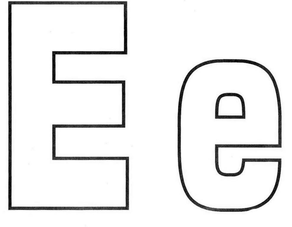 letra e alfabeto exercÍcios atividades atividades e desenhos