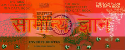 what is the red data book, iucn red data book, red data book of india, red data book about animals,