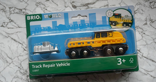 BRIO WORLD TRACK MAINTENANCE VEHICLE