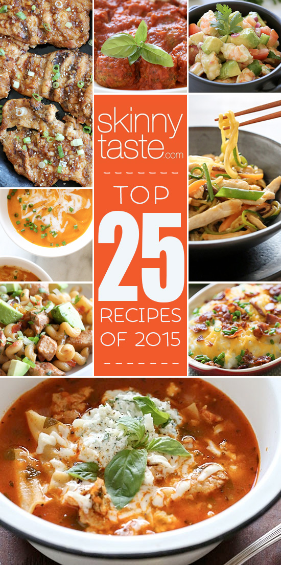 Best 25 Models Ideas On Pinterest: Top 25 Most Popular Skinnytaste Recipes 2015