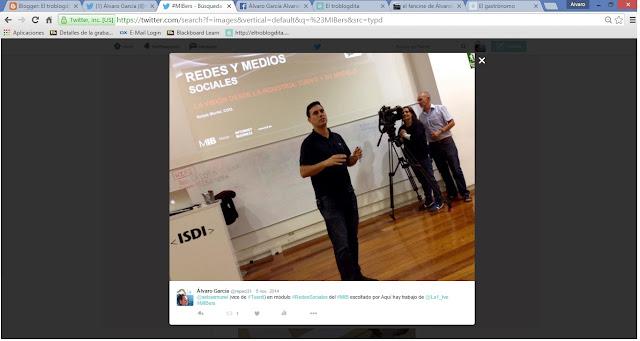 01b59505c26 MIBer - MIBers - el MIB en imágenes  Twitter - ISDI - Álvaro García -