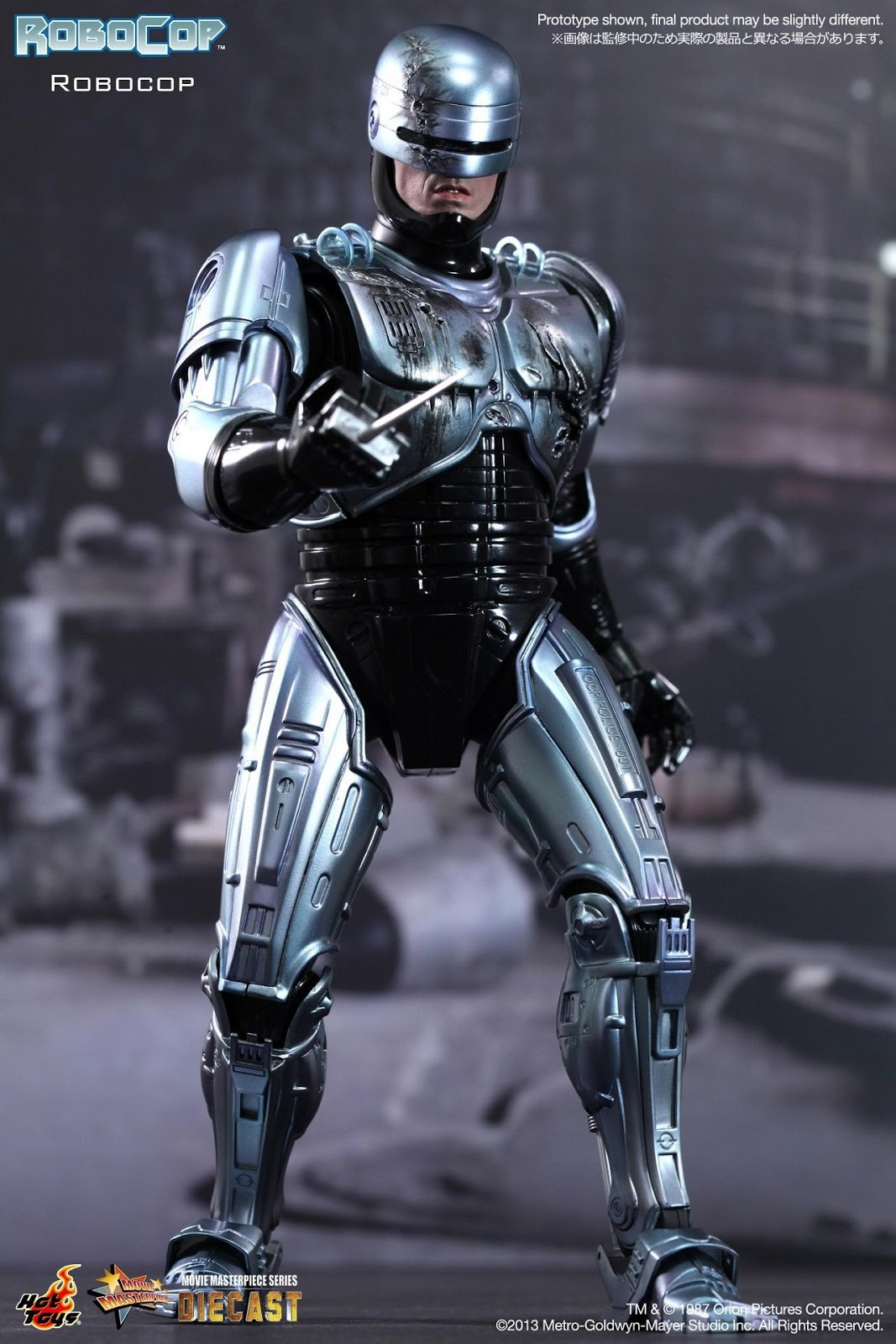 onesixthscalepictures Hot Toys Robocop Robocop  Latest