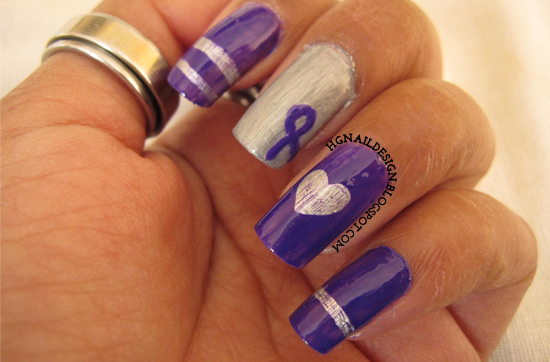 http://hgnaildesign.blogspot.com/2014/11/anti-bullying-purple-nailart.html