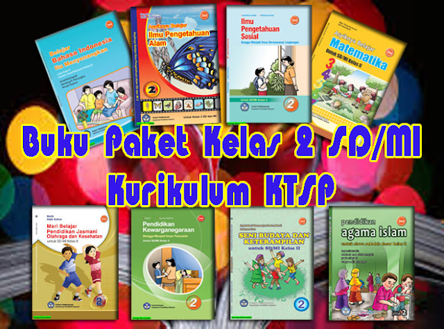 Download Buku Paket Kelas 1 SD - MI Kurikulum KTSP