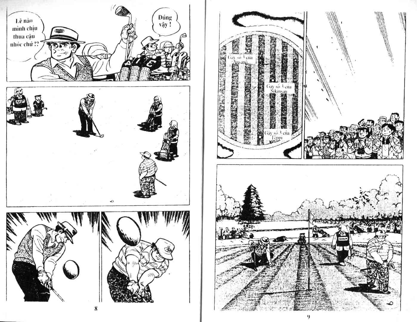 Ashita Tenki ni Naare chapter 38 trang 2