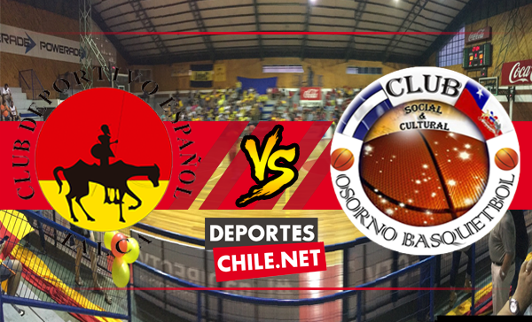 Municipal Español de Talca vs Osorno Básquetbol,