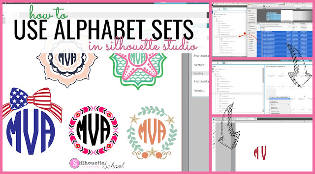 Free silhouette fonts, silhouette fonts, free fonts for silhouette cameo, free monogram fonts for silhouette, silhouette cameo fonts