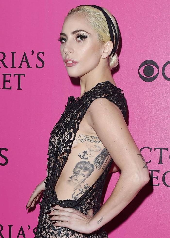 tatuagem lady gaga david bowie