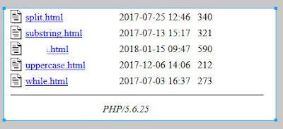 Nascondere versione PHP wamp