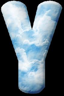 Alfabeto con Nubes.