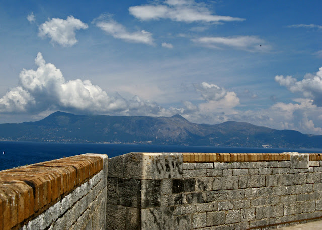 New Fortress. Kerkira. Corfu. Greece. Ionian Islands. Новая крепость. Керкира. Корфу. Греция. Ионические острова.
