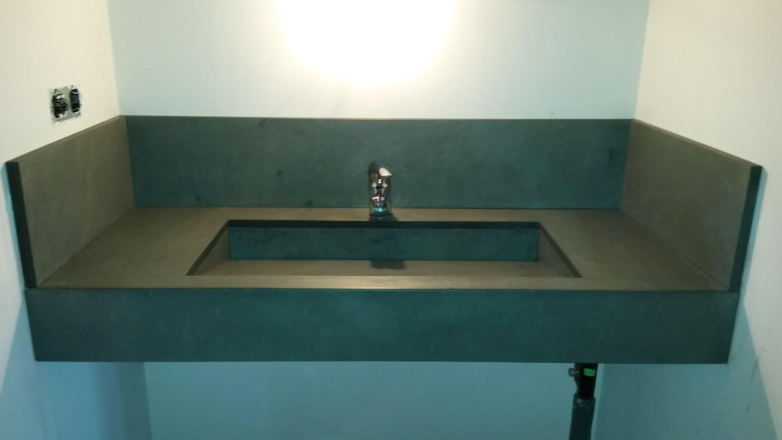 Marbres valls lavabo de pissarra gris amb pica integrada - Pica silestone ...