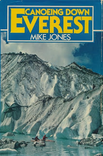 book, Canoeing down Everest, Mike Jones