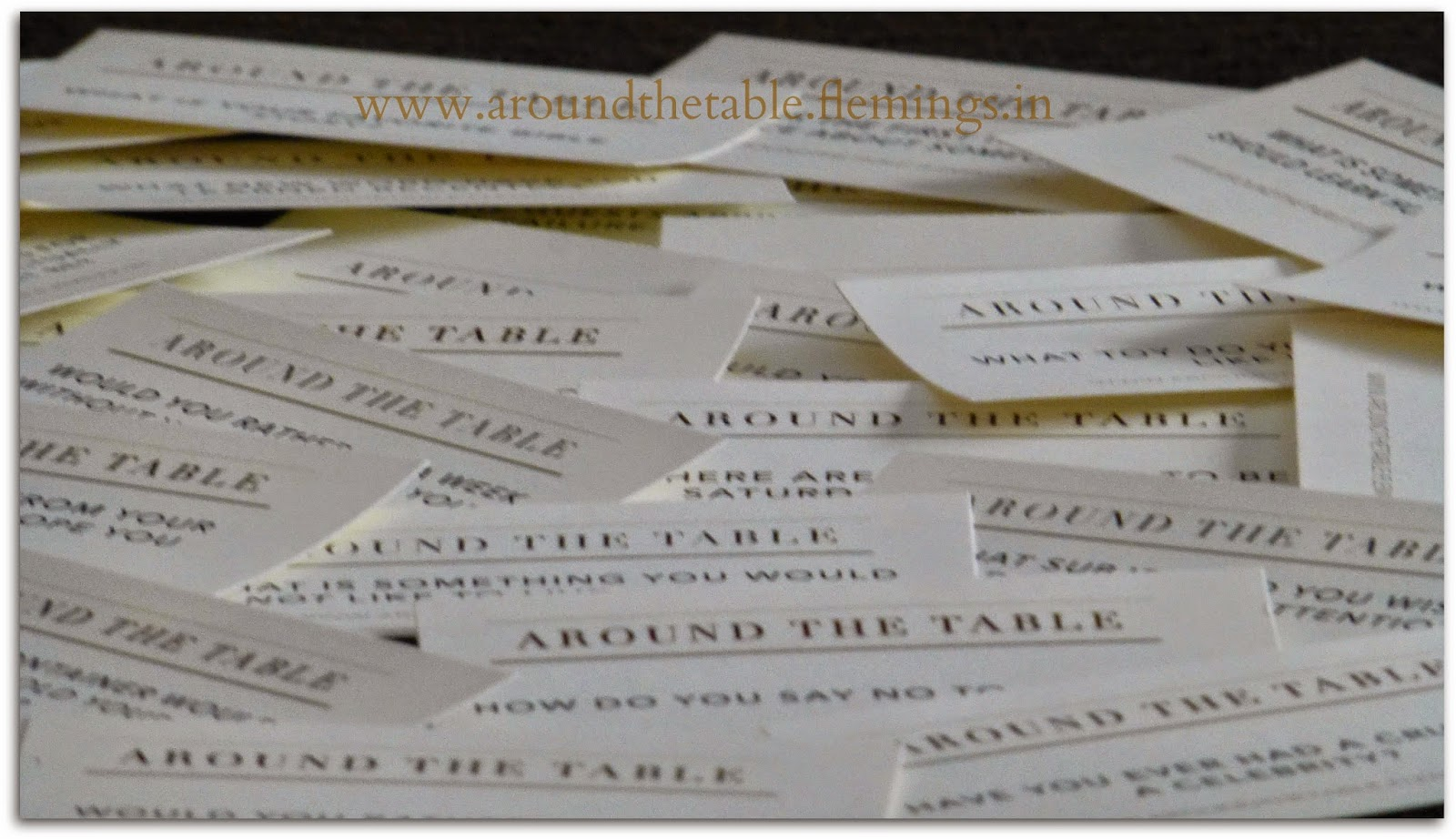 around the table book  beyond small talk