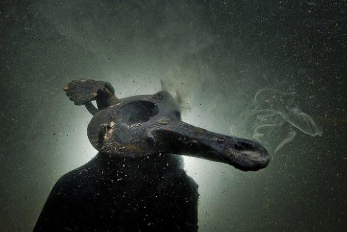 Θαυμασμός για τα ευρήματα των βυθισμένων αρχαίων ελληνικών πόλεων  στο Δέλτα του Νείλου