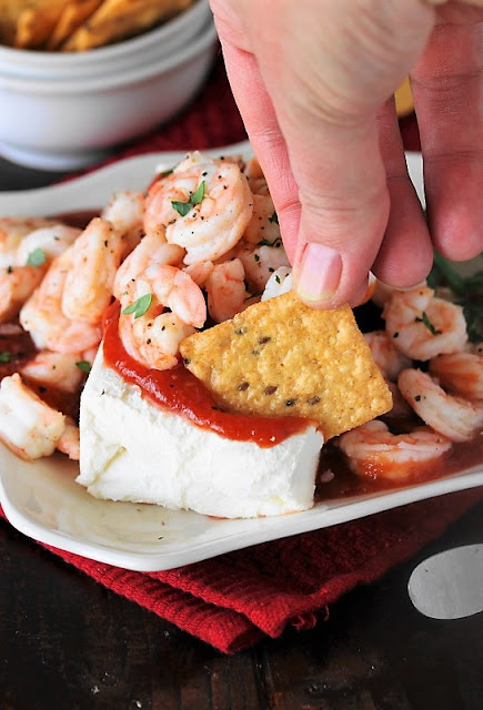 Super Easy Shrimp & Cream Cheese Appetizer picture