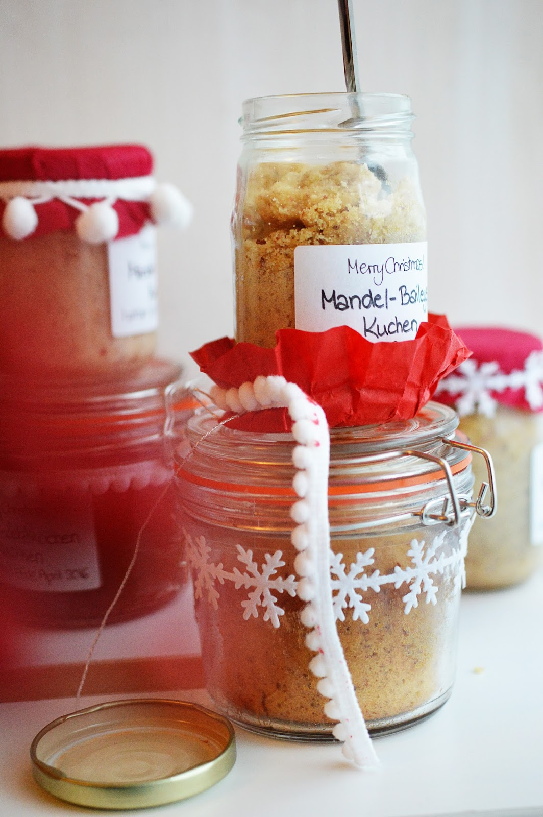 Almond & Baileys Cake in a Jar | Motte's Blog