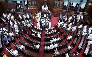 proceedings-of-the-rajya-sabha-adjourned-for-a-day
