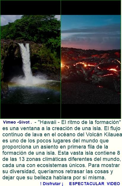 'Hawaii - El ritmo de la formación'