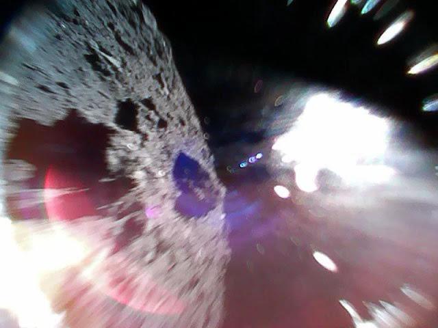 """Le prime foto dell'Asteroide """"conquistato"""" dal Giappone"""