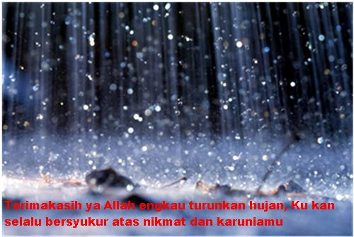 Kata Kata Hujan Romantis Terbaru