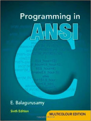 Programming in ANSI pdf Book By E. Balagurusamy