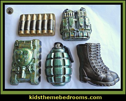 Army Chocolate moulds   military cakes, decorations, military party foods and favors army party decorations - Camouflage Party Supplies - army party ideas - Military party ideas for a boy birthday party - Army & Camouflage decorations - army party decoration ideas - army themed party - army costumes - Army Camo Party Supplies -
