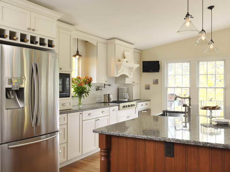 Light Ideas On The Cabinets Gallery Best Kitchen Hardwood Floor And Wall Painting Color For Design Refrigerator Placement