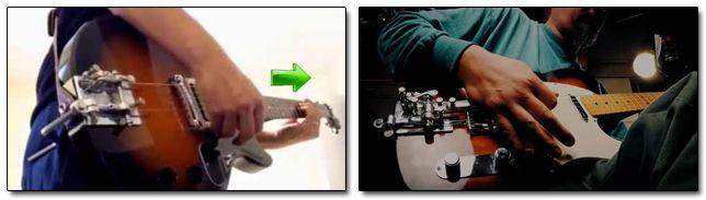 Mecanismo B-Bender Hipshot Bender Guitarra