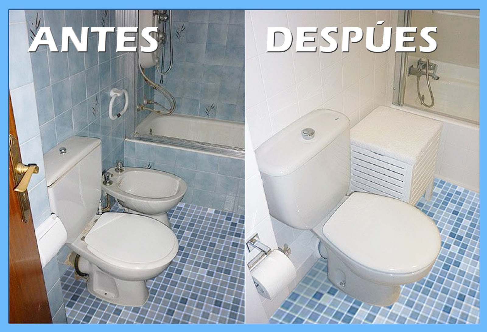 Mundocolor bruguer c mo renovar tu ba o o cocina f cilmente - Colores pintura azulejos bano ...
