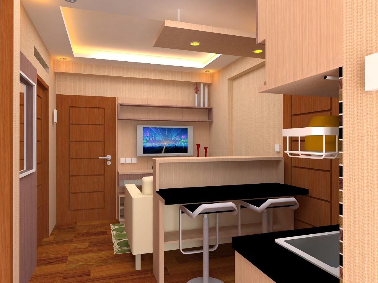 Desain Interior Apartemen Tempat Tinggal Kantor Tempat Usaha