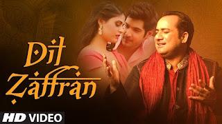 Dil Zaffran Lyrics | Rahat Fateh Ali Khan | Ravi Shankar