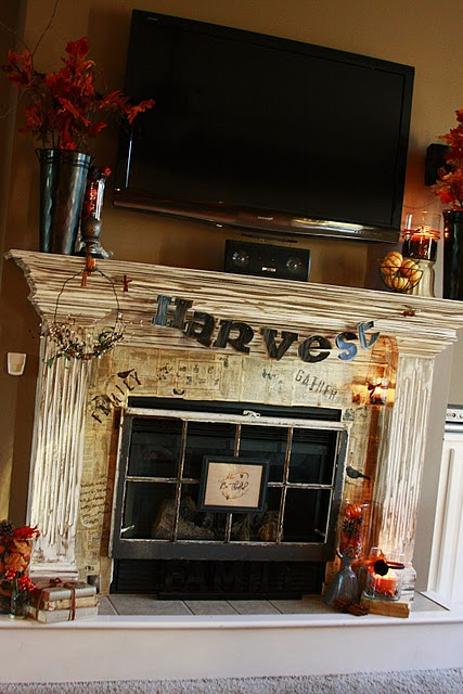 The Adventures Of Olive Amp Gallon Fall Fireplace Mantels