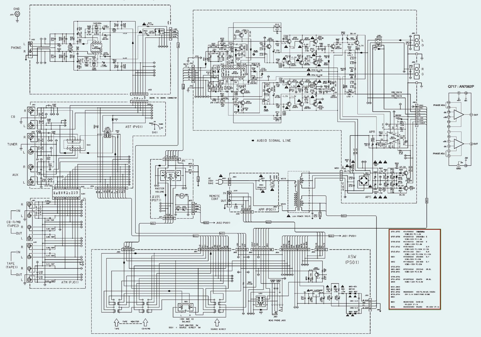 Wiring Diagram Info Marantz Pm6010 Ose Schematic Mixed Labels