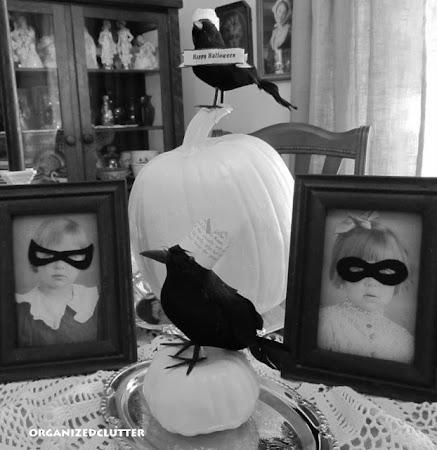 Halloween Pumpkins, Masks and Crows.