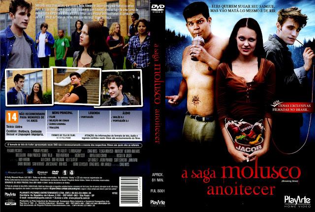 Capa DVD A Saga Molusco Anoitecer
