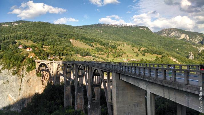 Большое путешествие, день второй: каньон реки Тара, Черногория