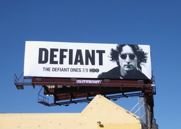 Defiant Ones John Lennon billboard