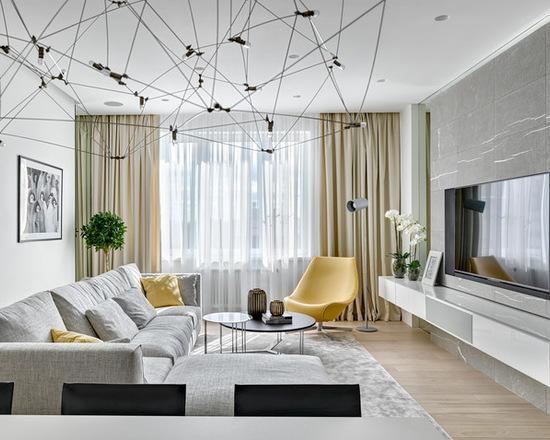 гостиная комната на 20 кв м
