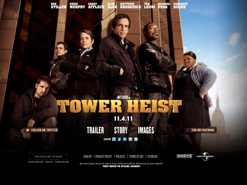 Movies: Tower Heist (2011)