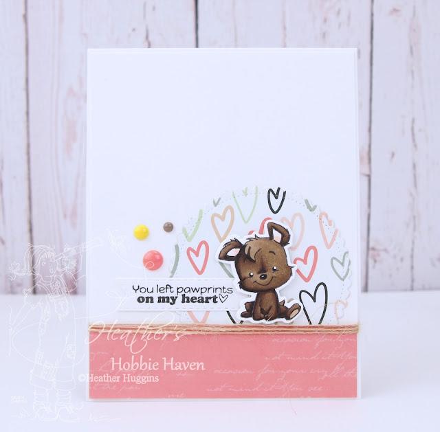 Heather's Hobbie Haven - CC Designs - Puppy Power Card