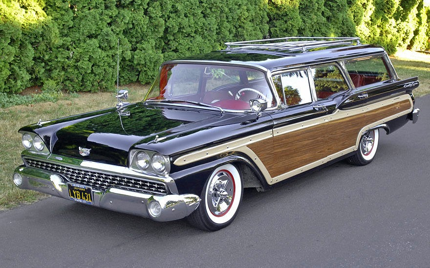All American Classic Cars: 1959 Ford Fairlane 500 Country ...