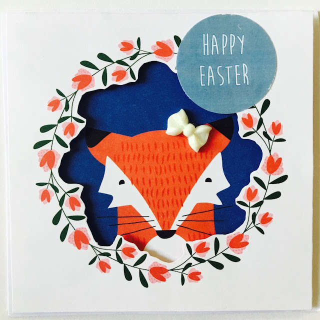 Easter Card by Angela Tombari for I need confetti blog