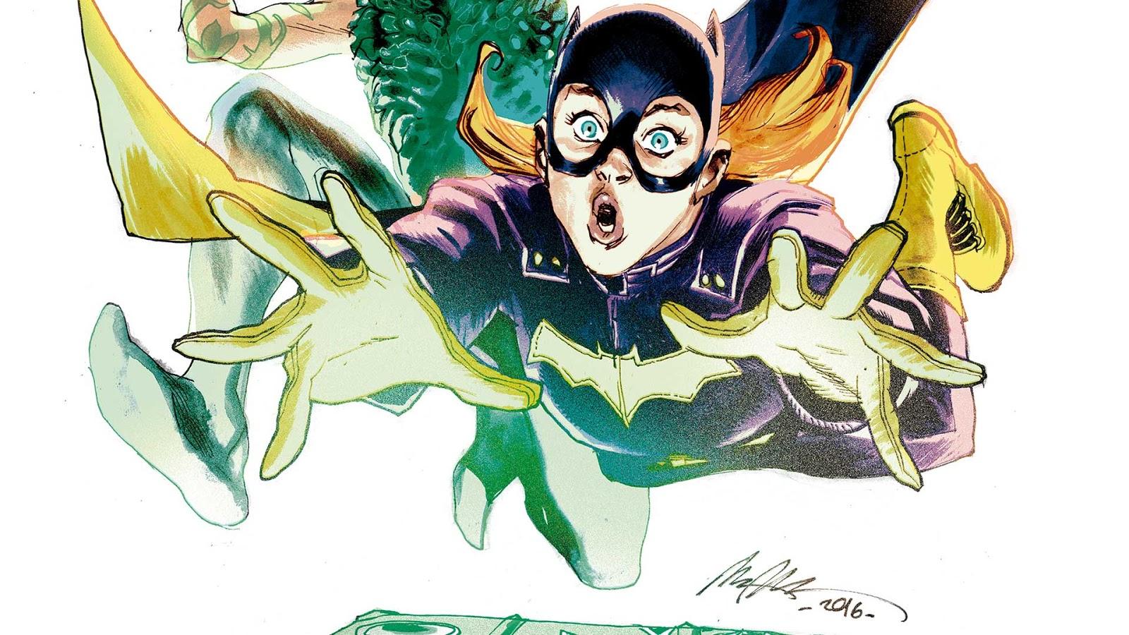 Comics Batgirl #6 Variant Cover Francis Manapul Collectibles