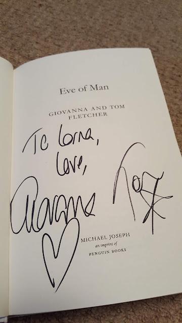 eve-of-man, tom-fletcher, giovanna-fletcher, book, yalc